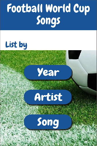 Football World Cup Songs