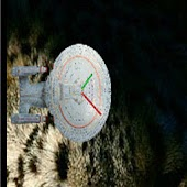 Enterprise D Clock Widget 2x2