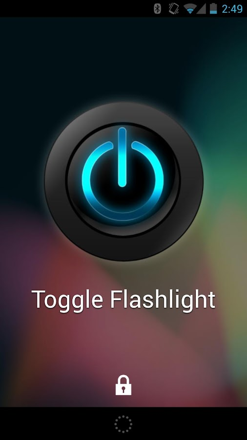 Nexus Flashlight- screenshot