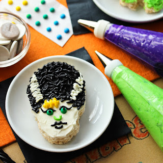 Make Your Own Monsters Rice Krispies Treats