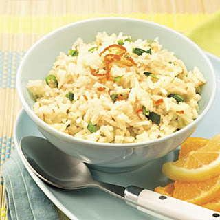 Citrus-Scented Rice With Fresh Basil