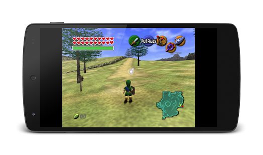 MegaN64 (N64 Emulator) - screenshot thumbnail