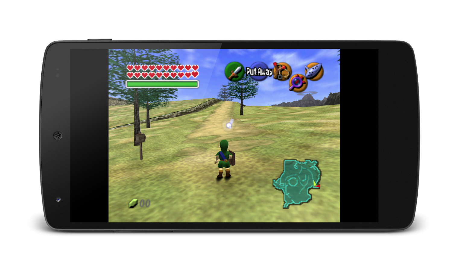 MegaN64 (N64 Emulator): captura de tela
