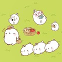Molang Picnic Atom Theme icon