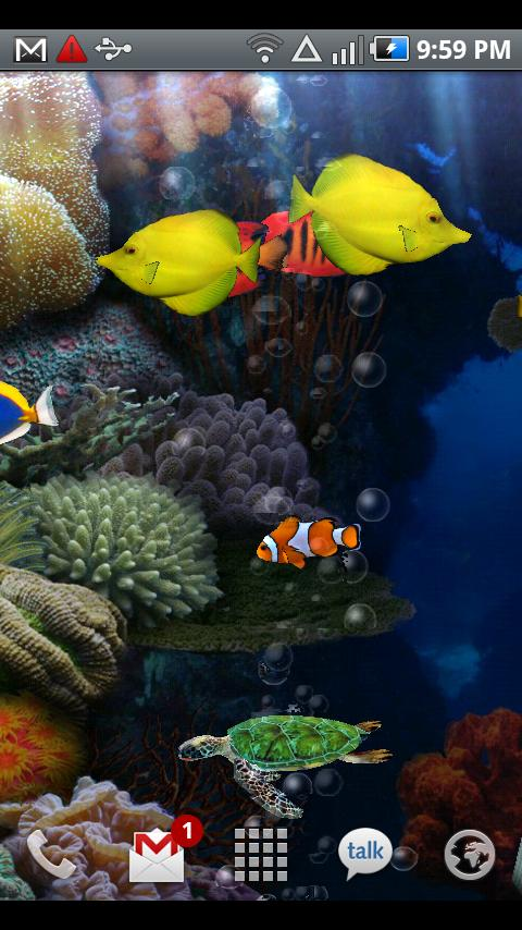 aquarium free live wallpaper android apps on google play. Black Bedroom Furniture Sets. Home Design Ideas