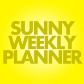 Sunny Weekly Planner Basic