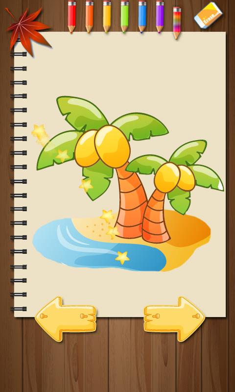 kids paintings coloring book android s on google - Kids Paint Book