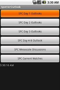 Storm Chaser SPC Outlook App - screenshot thumbnail