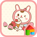 Strawberry BboBbo dodol theme icon