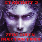 SC2 Zerg Queen Inject Timer