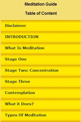 Meditation Guide In-depth