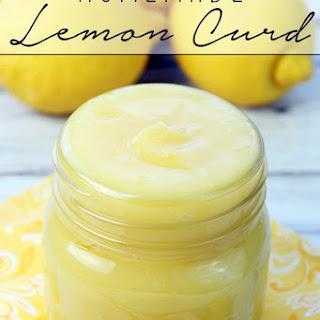 Homemade Lemon Curd.
