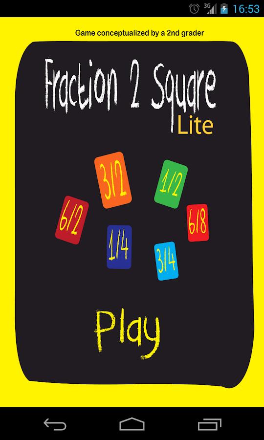 Fraction 2 Square Lite