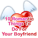 10 Romantic Boyfriend Tips logo
