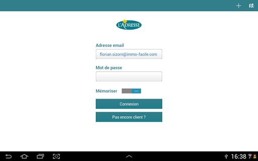 【免費商業App】Excel'Adresse pour tablettes-APP點子