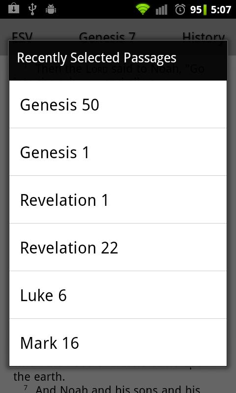 ESV Translation Bible Touch- screenshot