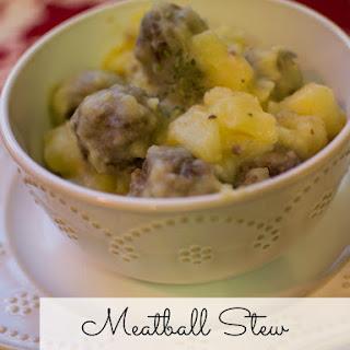 Meatball Stew.