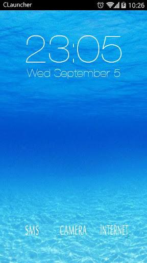 【免費個人化App】MY SUMMER C LAUNCHER THEME-APP點子