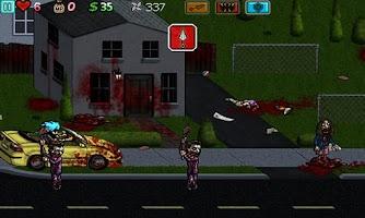 Screenshot of Ghost Ninja:Zombie Beatdown