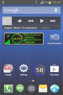 Data Monitor Widget