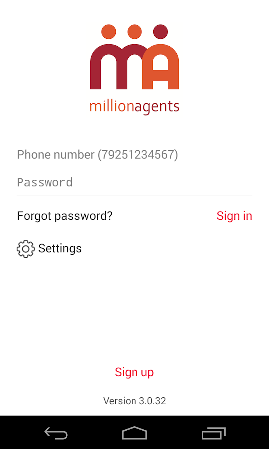 MillionAgents- screenshot