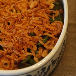 Green Bean Casserole with Bella Mushrooms