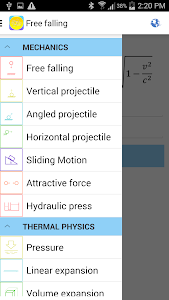 Physics Formulas v3.1