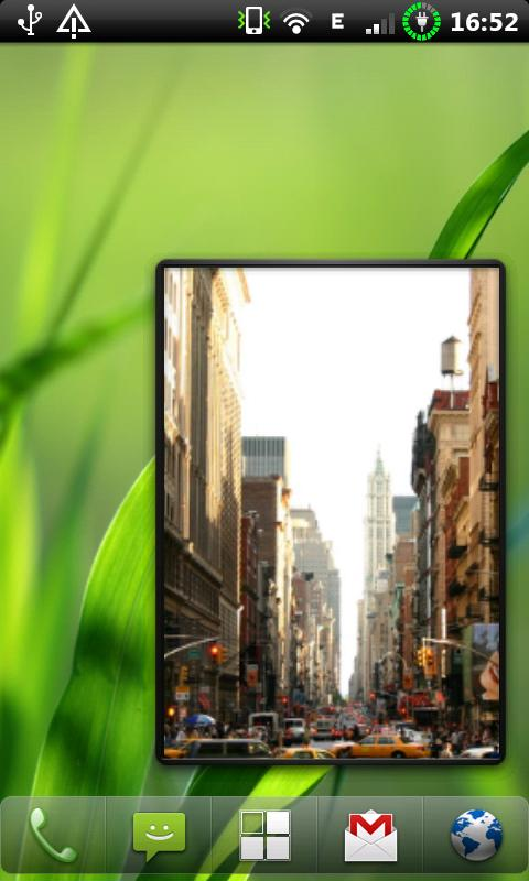 Big Photo Frame Widget- screenshot