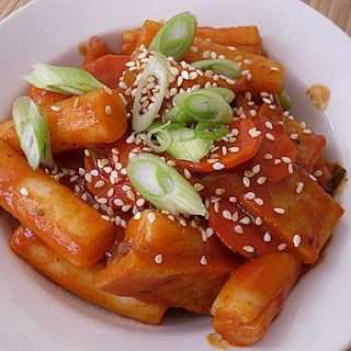 Korean Spicy Topokki.