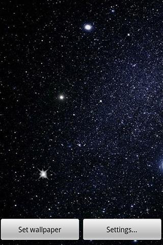 Fondo Animado Galaxia