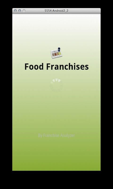 Food Franchises - screenshot