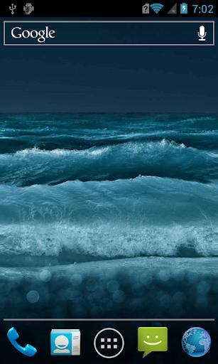 Raging sea waves LWP