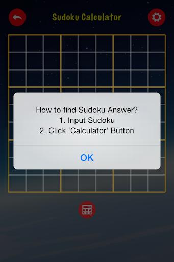Sudoku Calculator
