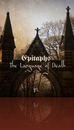 Epitaphs the language of death_cover