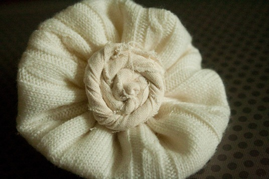 Sweater Flower 059