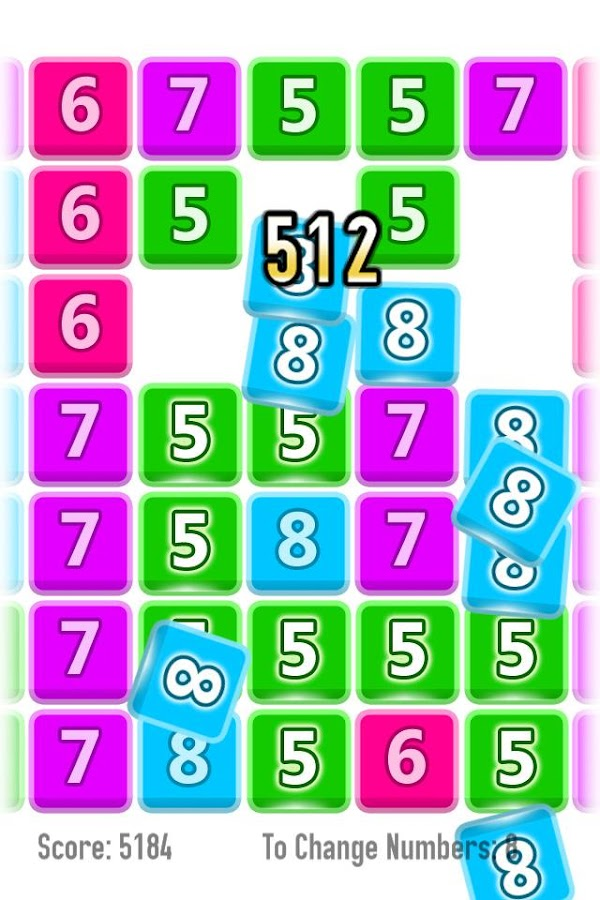 NUMGO free numbers puzzle game- screenshot