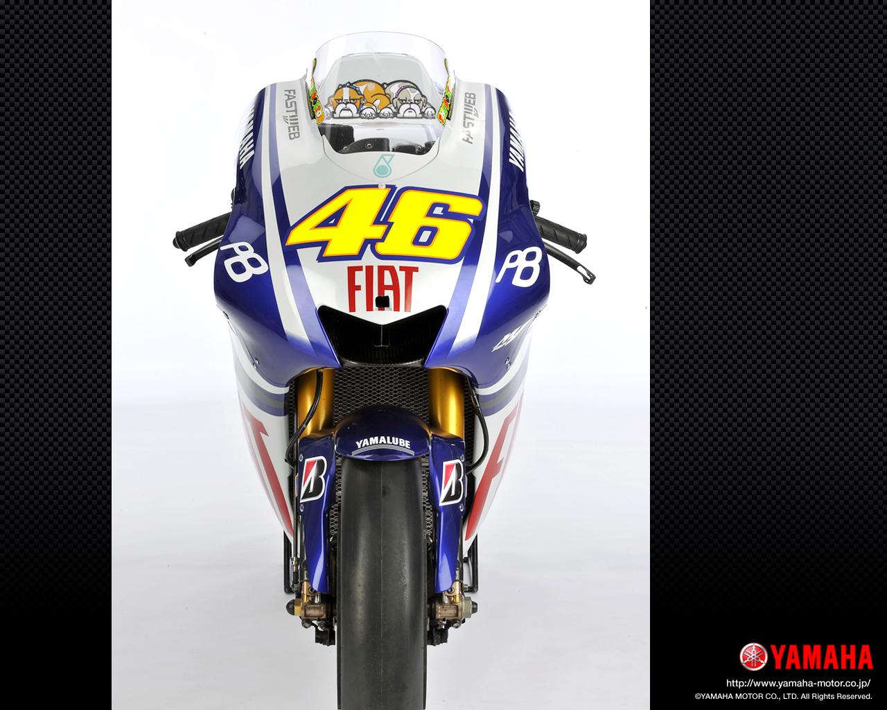 YZR-M1 - MotoGP 2010 Fiat Yamaha Team #3