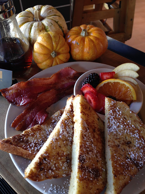 The Best Gluten Free French Toast on Saturday & Sunday with Starky's house made gluten free bread-un