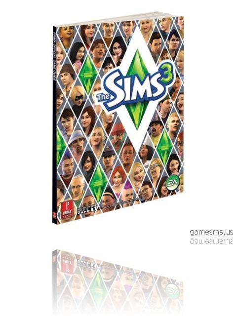 The Sims 3 Official Prima Game Guide Poster