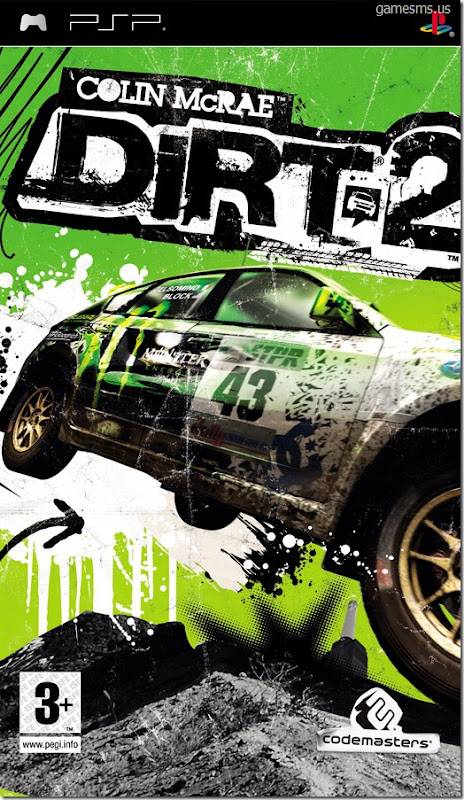 Colin McRae DiRT 2 PSP Download