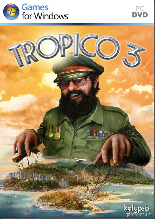Tropico 3 UK Box Cover