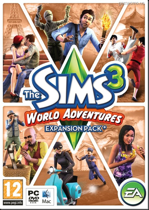 The Sims 3 World Adventures Full PC Download