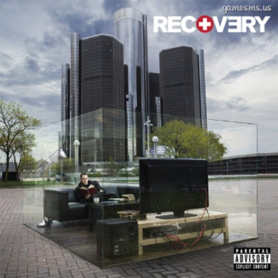 Eminem - Recovery (2010) Cover