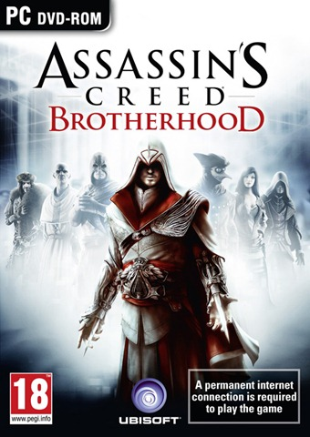 Assassins Creed: Brotherhood Box ART