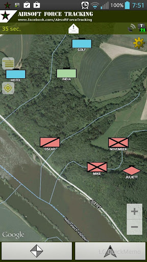 Airsoft Force Tracking