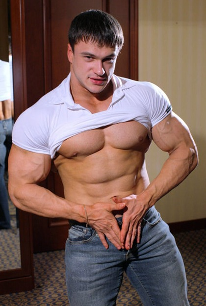 Anatoly Demidov - Eastern European Junior Bodybuilder