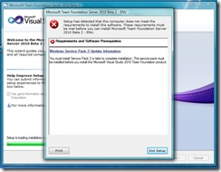 tfs2010beta2-installerror-sp2req