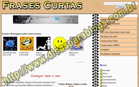 Curtas Frases Quotes Links