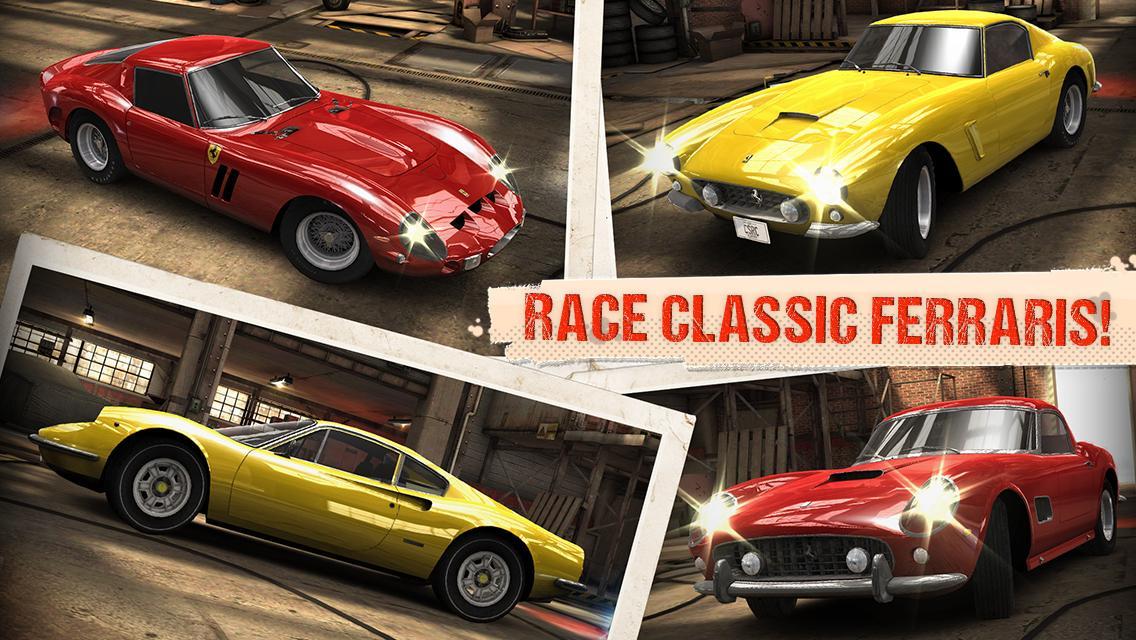 CSR Classics - screenshot