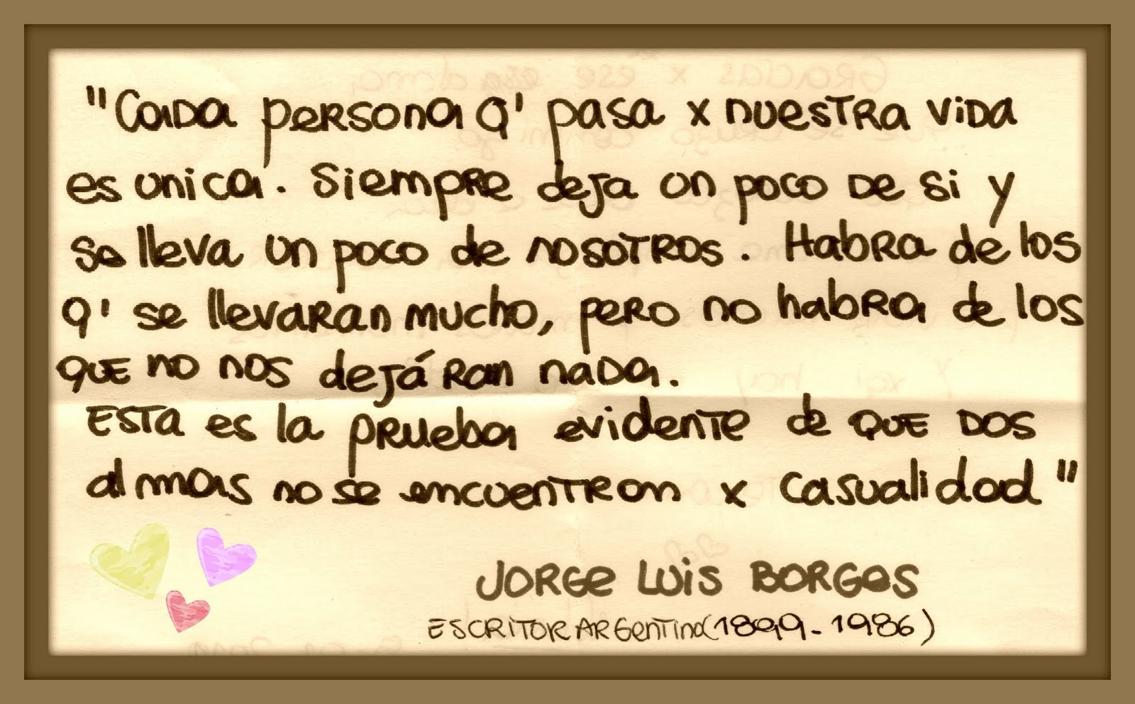 Frases De Jose Luis Borges 3 Quotes Links